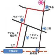 ふだんきもの杏事務所への行き方(ルートB)