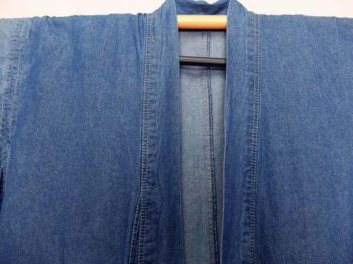 デニムの着物を洗ってみた結果