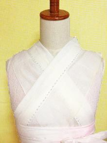 【大好評!】サラシでかんたんに作る 身頃付き美容衿【購入もできます】
