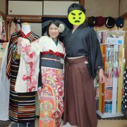 東京キモノショーといろいろ。お互いの趣味展示ツアーデートです。