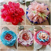 9/27新しい商品アップしました!かなめ屋さんの花コサージュです。