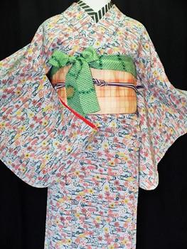 3/29新しい商品アップしました!袷の着物4点です。
