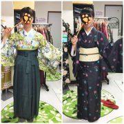 お客様のご紹介~袴の着付けと帯のレッスン~