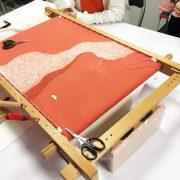 日本刺繍ワークショップレポ