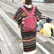 長崎旅行の着物コーデ