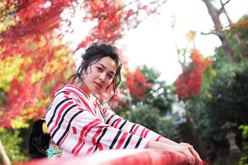 カメラマン坂本さん衣装提供その3~スマート着物美人さん~***